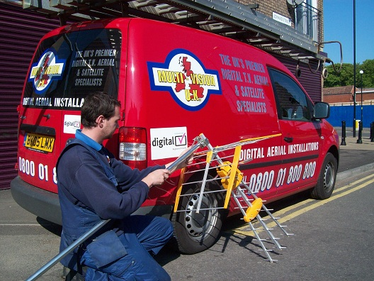 aerial installer in Leicester